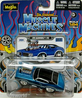 1970 Oldsmobile 442 MUSCLE MACHINES 2012 By Maisto Release 12 Wave 3