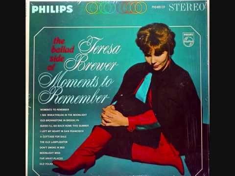 Teresa Brewer - Far Away Places (1963)
