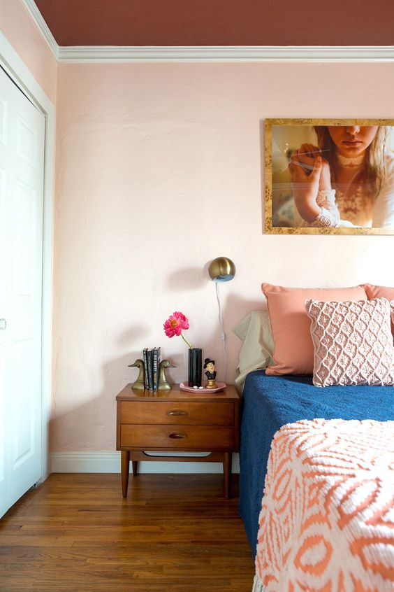 A Pink-Centric, Playfully Sophisticated California Home