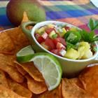Quick Mango Salsa Recipe - i'm going to try this.
