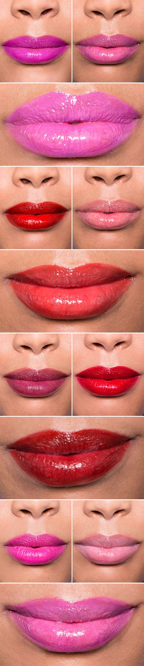 Learn how to mix and match your lipstick shades to create an original shade you can guarantee no one else will be wearing.