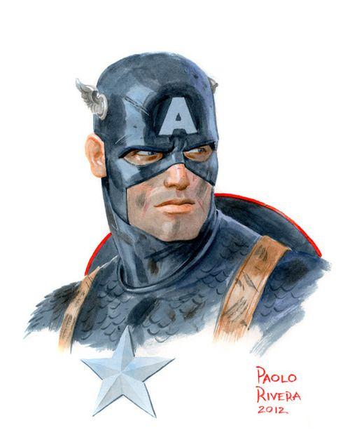 Captain America by Paolo Rivera