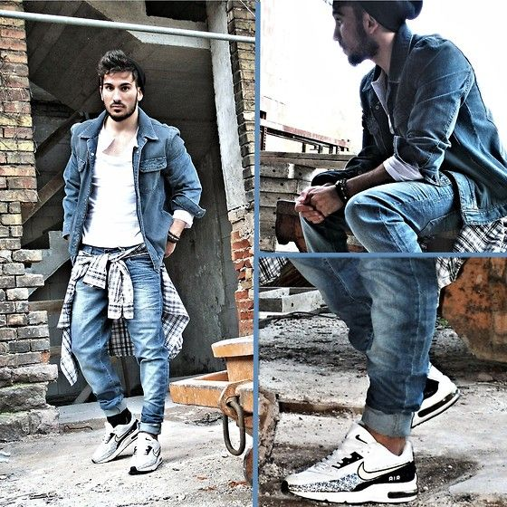 nike air max 90 with jeans