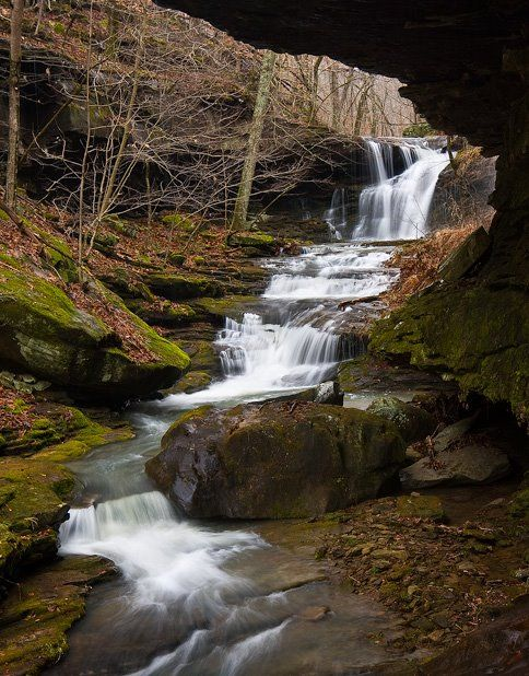 John Moore_Dismal Hollow_Arkansas Waterfalls_2008