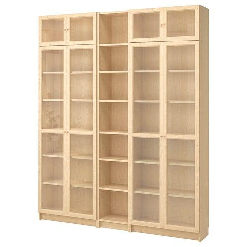 Havsta Storage Combination W Glass Doors Gray Ikea Billy Bookcase Bookcase Bookcase With Glass Doors
