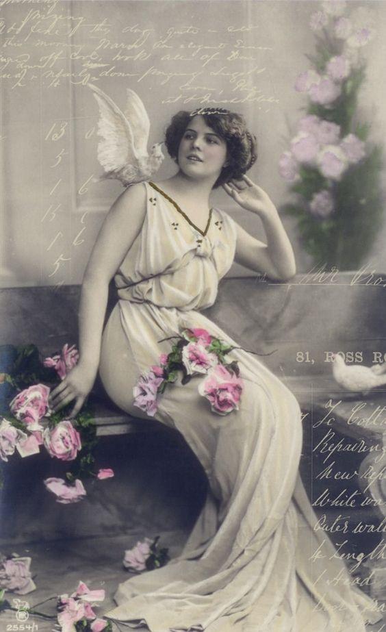 **FREE ViNTaGE DiGiTaL STaMPS**: Vintage Printable - The Lovely Muse