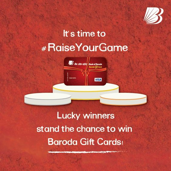 Bank Of Baroda Contest   10 Candidates Get Gift Card