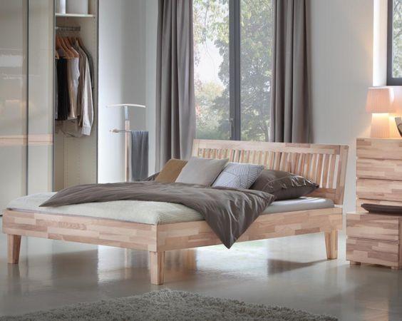 Hasena Wood-Line Massivholzbett Juve/Stecca - bestellen bei Möbel-Mall.de
