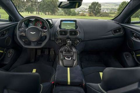 The 2020 Aston Martin Vantage Is The Featured Model The 2020 Aston Martin Vantage Amr Interior Image I In 2020 Aston Martin Interior Aston Martin Aston Martin Vantage