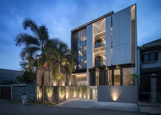 Gallery Of The Kois Living Ruangrona 20 In 2020 Architecture House Design House Styles