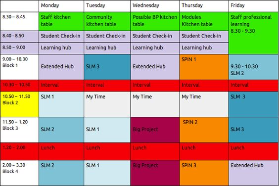 School Time Table Format In Excel Free Download School Timetable Timetable Template Active Learning Classroom