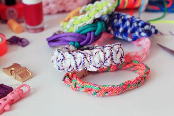 DIY : le bracelet en paracorde marin ! – Poulette Magique