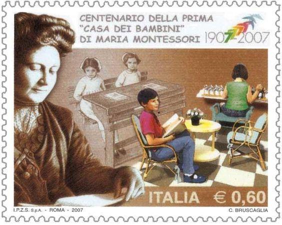 Resultado de imagem para SELO DE Maria Montessori