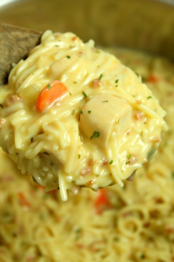 Crack #Chicken Noodle #Soup #recipe