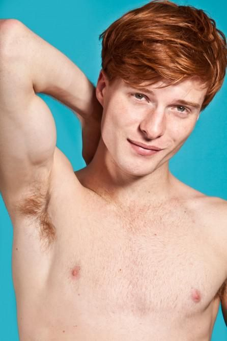 """Admittedly not often attracted to gingers but this boy's beautiful: More Hard-Bodied """"Red Hot"""" Gingers Join Photographer Thomas Knight's Campaign Against Stigma 