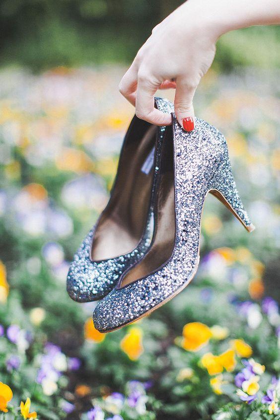 chaussures paillettes Patricia Blanchet