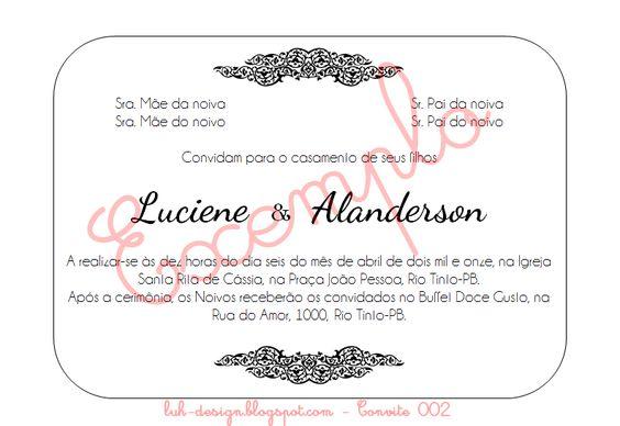 Convite 002 - by luh-design.blogspot.com