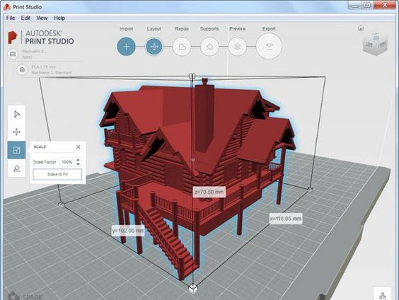 AutoCAD 2017 - Impresión en 3D (mejorada)<br />Hay varias opciones para la impresión en 3D: puede enviar los modelos 3D a un servicio de impresión en 3D externo. O bien, instale la herramienta Print Studio y conéctese con una impresora 3D o cree un archivo de impresión para más adelante.