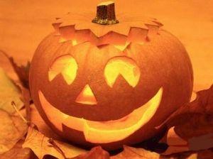 Halloween Smiling Pumpkin #halloween #pumpkin