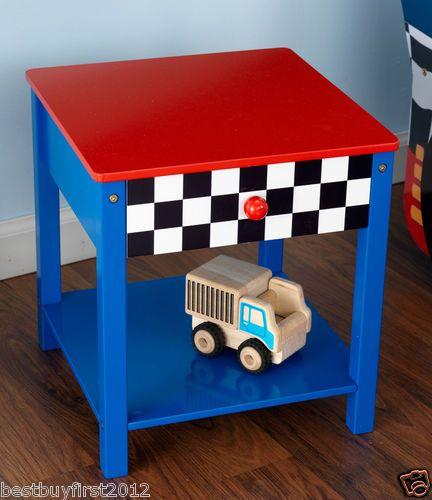 Best Kidkraft Kids Blue Racecar Race Car Boys Toddler Side 400 x 300
