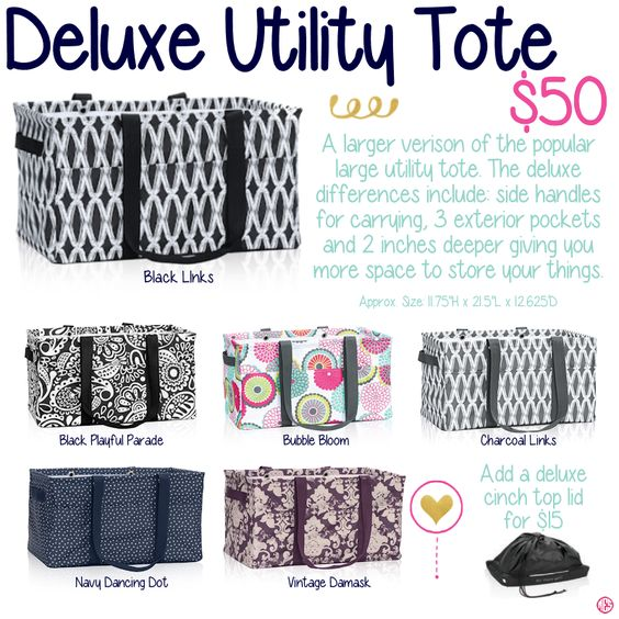 Affordable tote bags for school - Utility Tote Totes And Thirty One Gifts On Pinterest