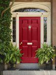 12 puertas pintadas para dar la bienvenida a tu casa