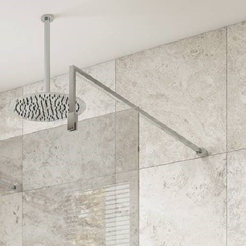 Details About Fixed Support Bar Arm For Walk In Wet Room Shower