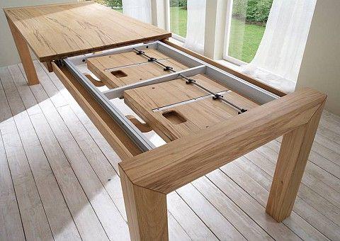 Esstisch Ausziehbar Massivholz Esstisch Holz Ausziehbar