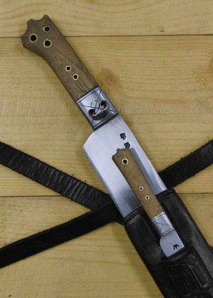 bauernwehr mit beimesser detail parriernagel klinge beimesser blades cuttlery and weapon. Black Bedroom Furniture Sets. Home Design Ideas