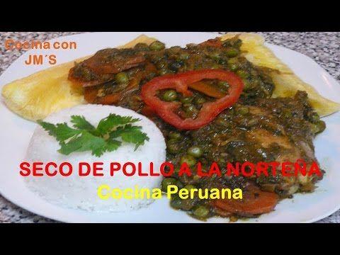 Recetas Cocina Youtube   Seco De Pollo A La Nortena Recetas Cocina Peruana Youtube