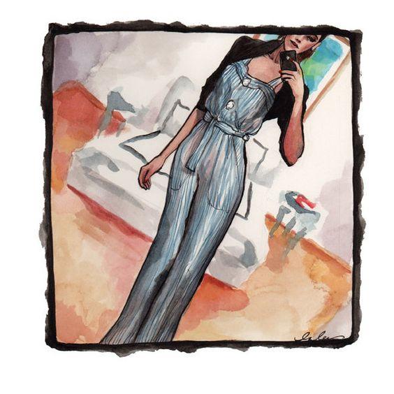 The Sketch Book found on Polyvore: Fashion Inslee, Sketch Book, Fashion Sketches, Fashion Style, Designer Fashion, Fashion Design, Haynes Illustrations Art, Illustration Inslee Haynes, Fashion Illustrations