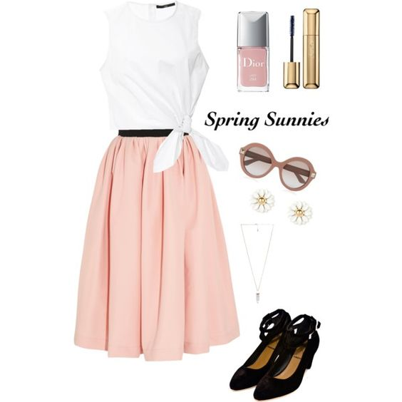 Spring Sunnies by willowthebee on Polyvore featuring polyvore, fashion, style, TIBI, Preen, Vena Cava, Amber Sceats, Valentino, Guerlain and Christian Dior