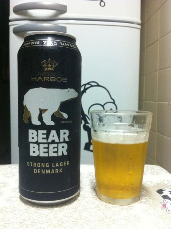 Bia Gấu Bear Beer Strong Lager 7,7% - Lon 500ml