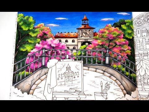 Romantic Country The Third Tale Marcus Part 2 Tutorial Prismacolor Youtube Romantic Country Country Romantic