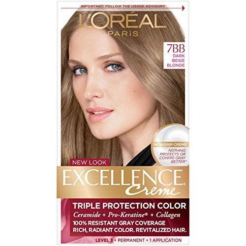 L Oreal Paris Excellence Creme Permanent Hair Color 7bb Dark