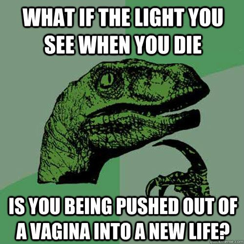 Wow...umm I never thought about that..what if that did happen!?