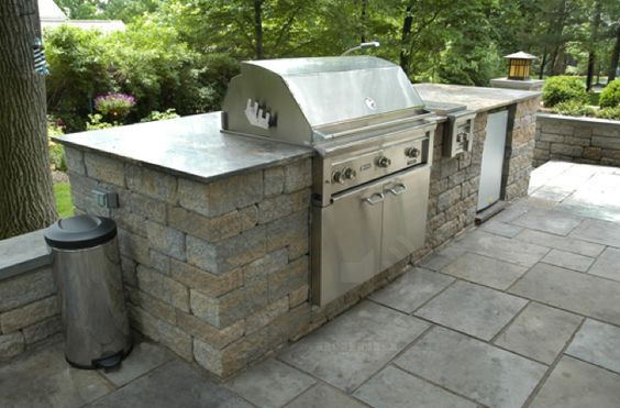Outdoor Kitchens Stone Kitchens Grill Areas Outdoor