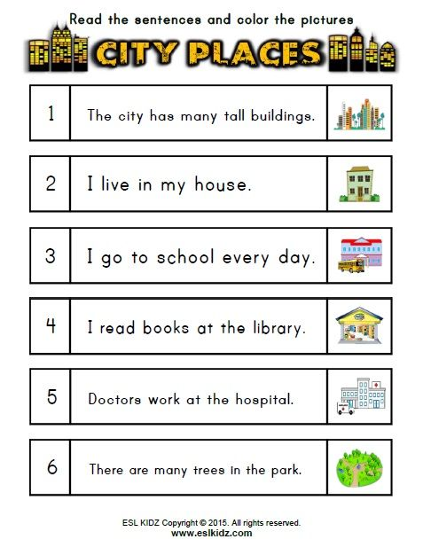 Https Www Teacherspayteachers Com Product City Places Classroom Center Bundle 3250107 English Worksheets For Kids English Activities Indian History Facts Places of city worksheet