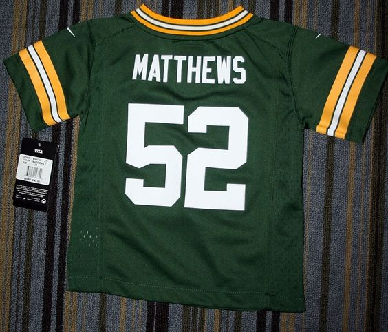 TODDLERS BOYS NFL NIKE GREEN BAY PACKERS JERSEY SIZE 3T FOOTBALL http ... 548649371