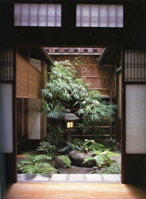 Nose Residence: Landscapes for Small Spaces: Japanese Courtyard Gardens, by Katsuhiko Mizuno