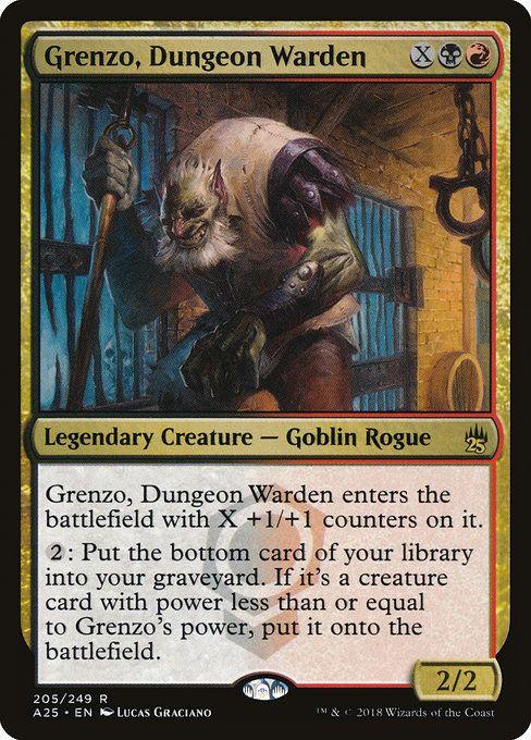commander carte m ra Grenzo, Dungeon Warden (A25) | Échangisme