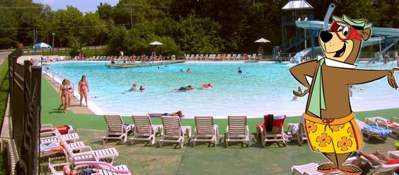 Akron Canton Jellystone Park Is All About The Water We 39 Ve Got A Swimming Pool Diving Board