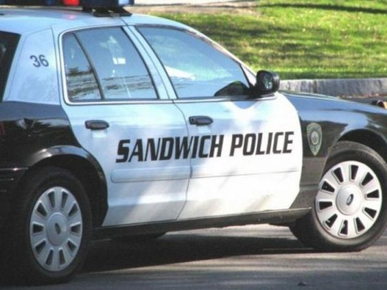 Making Sure Shes In The Kitchen In This Picture: Photo of the sandwich police
