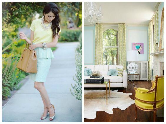 high fashion <--inspiration--> interior design
