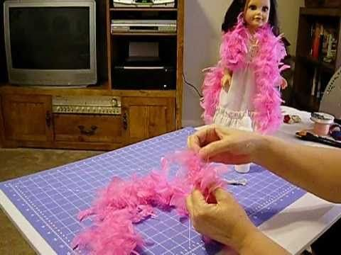 How to Make Doll Skirts with Old Curtains Pt. 1