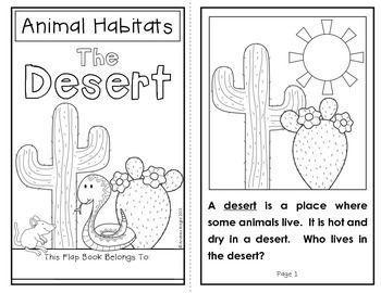 Pin By Nicole Stabile Crabtree On Future Teacher Animal Habitats Flap Book Habitats