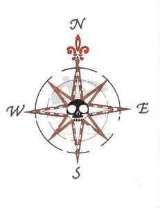 Compass Tattoo By HarleyQuinn1121jpg