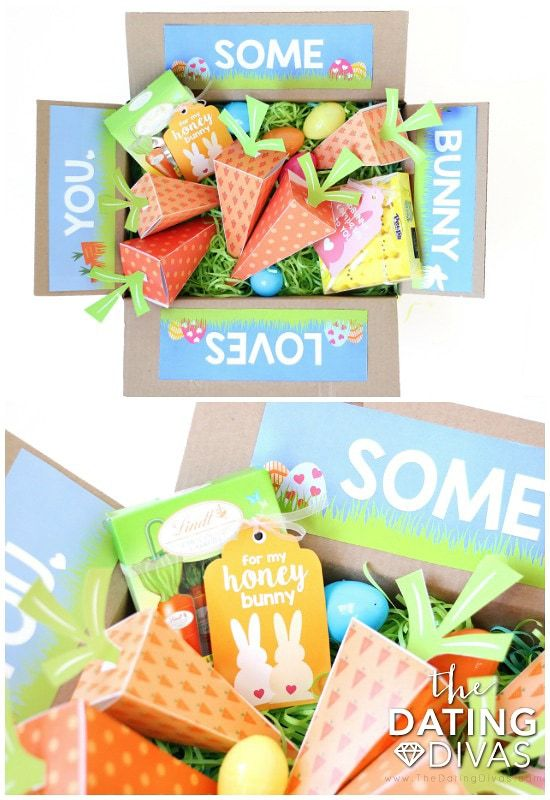 Printable care package flaps for Easter - todaywedate.com