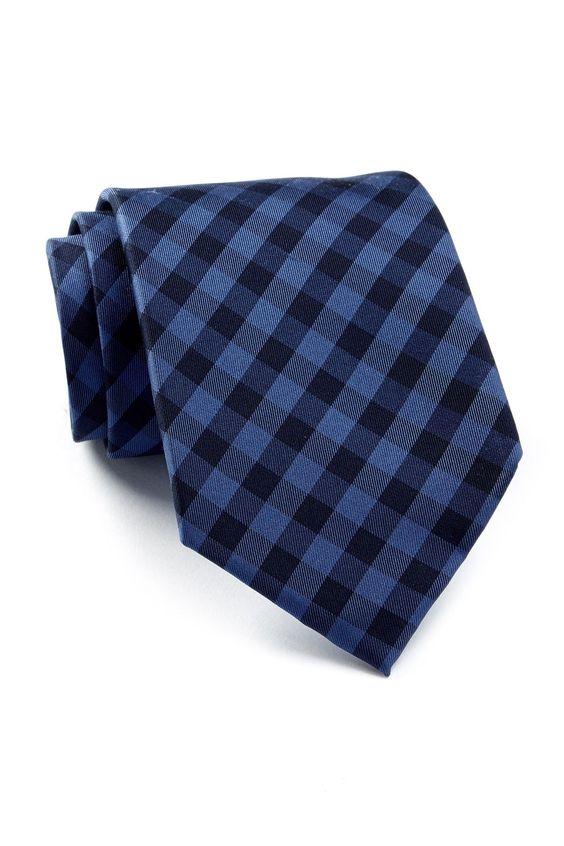Micro Buffalo Silk Tie
