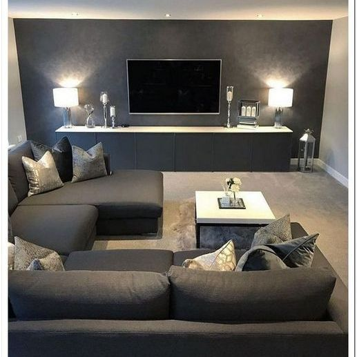 17 Comfortable And Cozy Living Rooms Ideas You Must Check Homemisuwur Living Room Decor Apartment Living Room Grey Living Room Design Modern